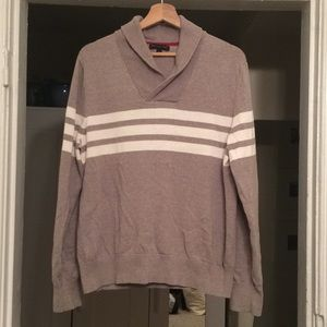 Men's Banana Republic Striped Sweater, Size L